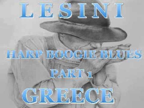 Harp Boogie Blues Part 1 - Dimitris Lesini Greece