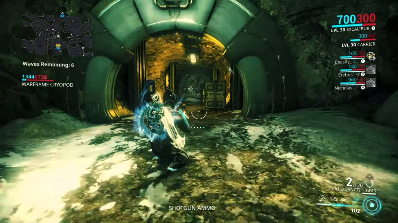 Warframe Gift From The Lotus Alert - YouTube