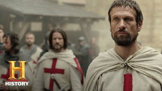knightfall who is tancrede de hautville? season 1 history