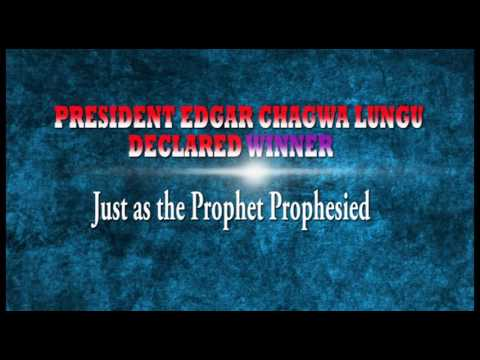 Prophecy Fulfillment for Zambia General  Election by Prophet Kenny Kalwazi, Commander Pioneer