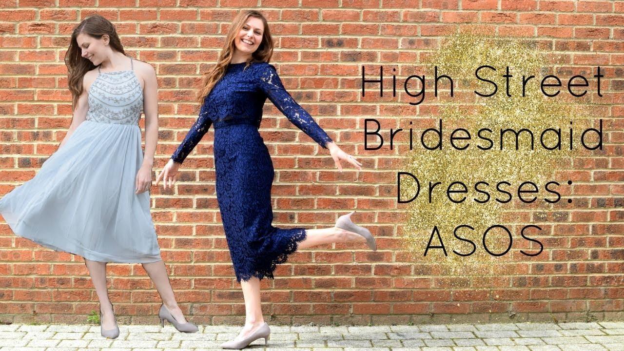 d09e16d003d High Street Bridesmaid Dresses  ASOS - YouTube