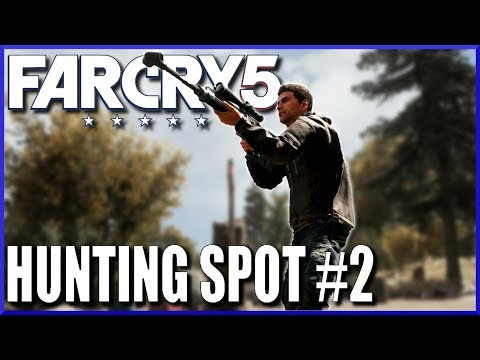 MOOSE HUNTING in Far Cry 5 - One of the Best Hunting Spots