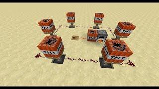 как сделать бомбу с таймером? Для профи-гриферов! Minecraft механизмы