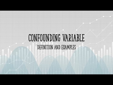 What Is A Confounding Variable Youtube
