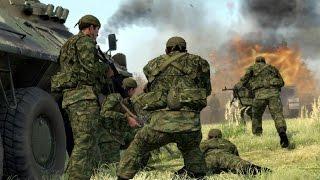 ЖЕСТКАЯ ОБОРОНА СОВРЕМЕННОЙ АРМИИ РОССИИ в Стратегии про Войну ! В Тылу Врага 2 Cold War