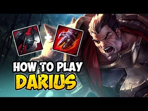 How To Play DARIUS TOP For Beginners | DARIUS Guide Season 10 | League Of Legends