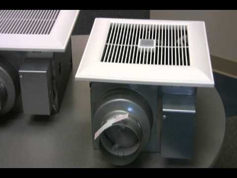 understanding panasonic whispergreen bath fans with controls - youtube