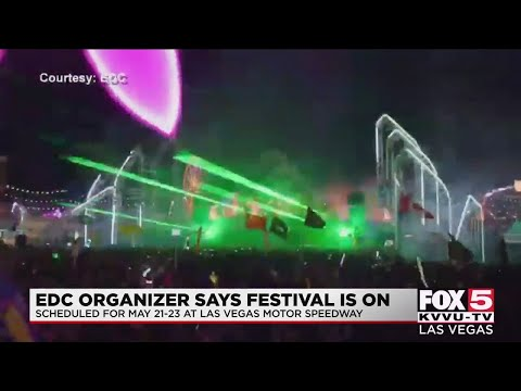 EDC organizers hopeful to host major event in Las Vegas