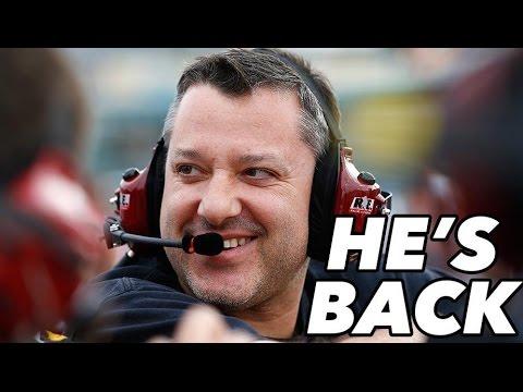 Smoke Will Rise at Richmond! Stewart Announces His Return
