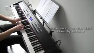 Bruno Mars - It Will Rain (Piano Co...