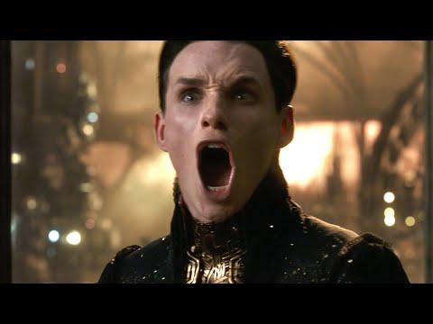 Jupiter Ascending (2015): Eddie Redmayne Screaming A Lot - New on Netflix 2019