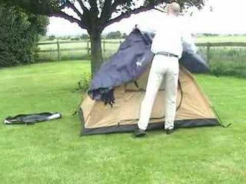 Abberley Quick erect tent & Abberley Quick erect tent - YouTube