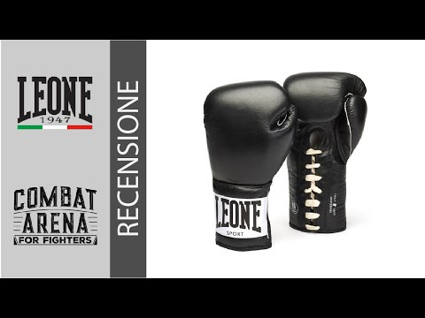 Guantoni boxe Leone Black/&White Muay Thai Kick Boxing