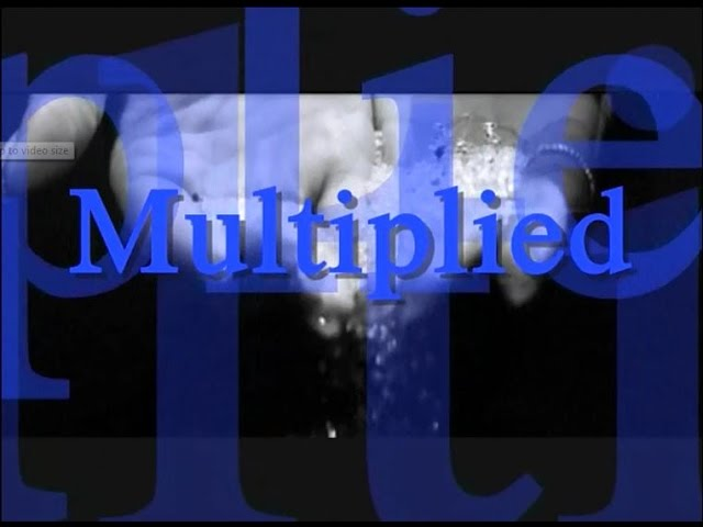 Multiplied by NeedToBreathe Worship Video Lyrics