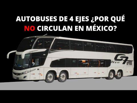 ¿POR QUÉ EN MÉXICO NO SE VENDEN AUTOBUSES DE 4 EJES?