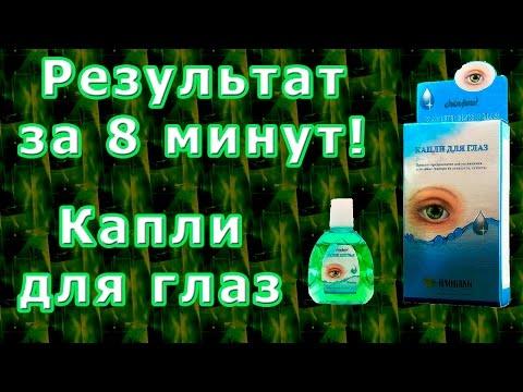Глазные капли (капли для глаз) - классификация