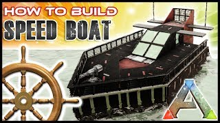 Speed Boat How To Build NO MODS | Ark Survival