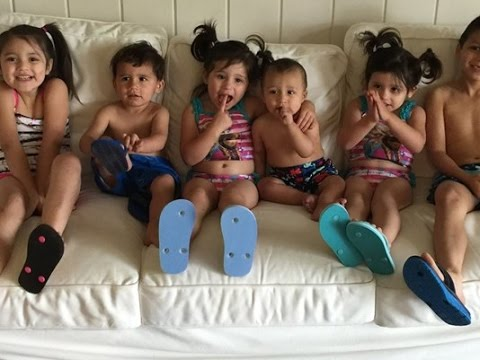 Texas sisters adopt six siblings to make unique blended family