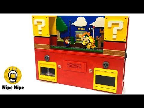 レゴで作ったマリオもどきなアクションゲームをクリアせよ!! LEGO Mario-ish Action game!!