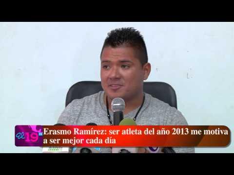 Erasmo Ramírez : ser atleta del año 2013 me motiva a ser mejor cada día