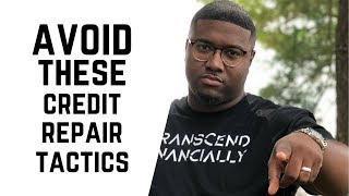 Avoid this kind of credit repair | May Result In Jail Time | Credit Sweep, ID Theft, Aged Tradelines