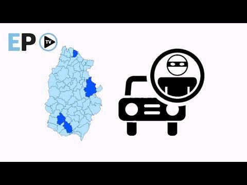 Baja el robo de coches en la provincia y el mayor riesgo está en Monforte