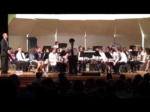 Shaker Hts Middle School 8th Grade Concert Band- 4/29/2014