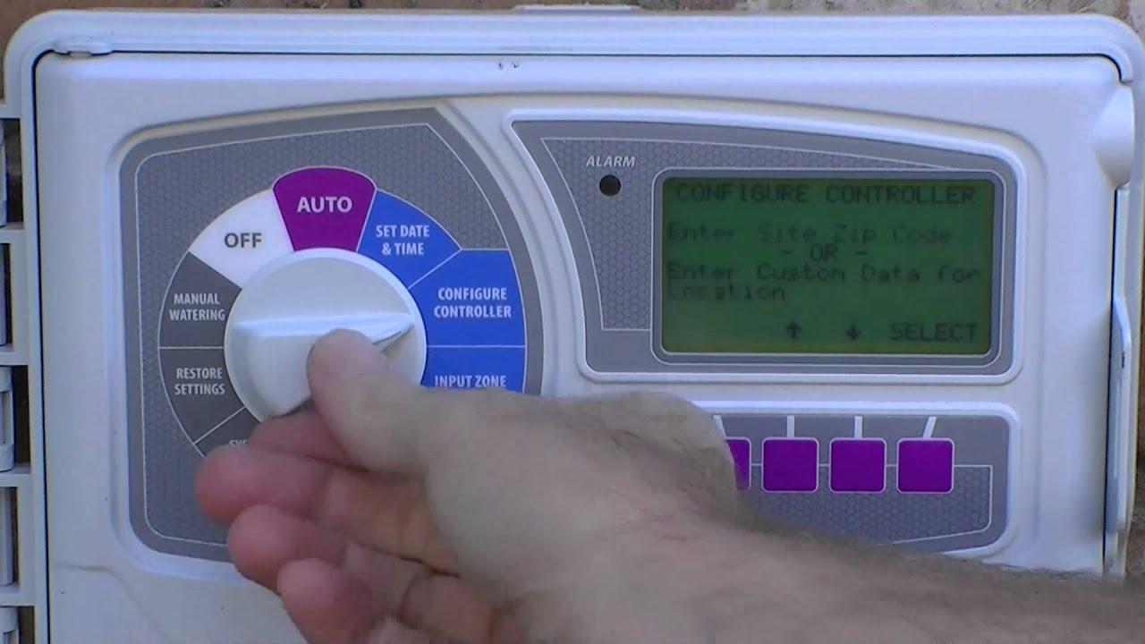 How to program your Rainbird ESP Smart Controller