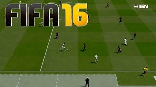 FIFA 16 Gameplay | Barcelona - Real Madrid