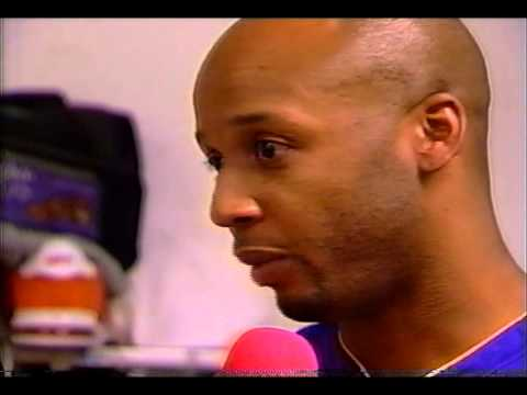 LA Lakers: 2002 West Conf. Championship Trophy Presentation