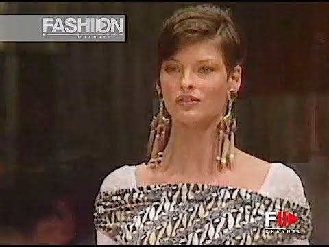 RIFAT OZBEK Spring Summer 1993 Milan - Fashion Channel