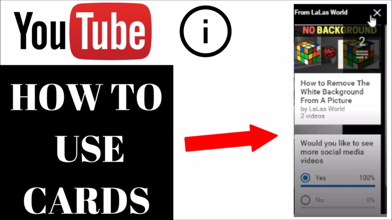 how to use end cards youtube