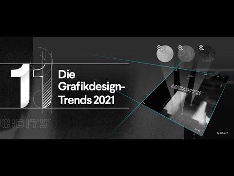 11 umwerfende Grafikdesign-Trends für 2021