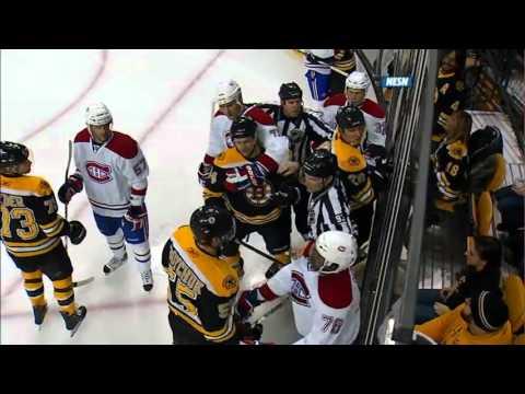 NHL 2011 Feb 9 Canadiens at Bruins