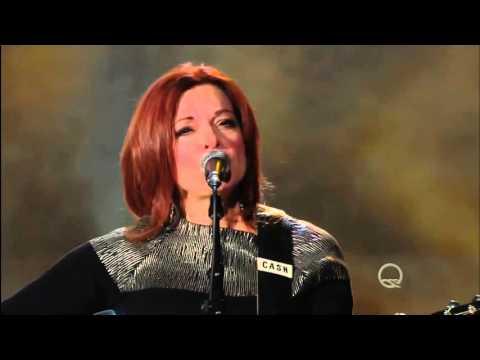 Rosanne Cash sings