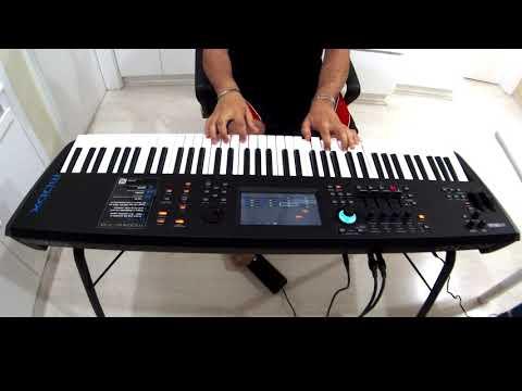 Yamaha MODX , DEMO PIANOS