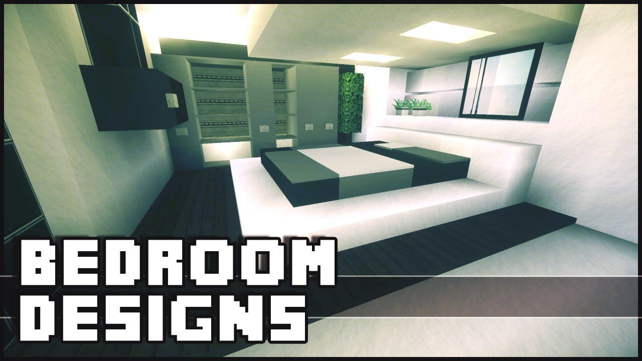 Minecraft Modern House Bedroom Design | Design For Home
