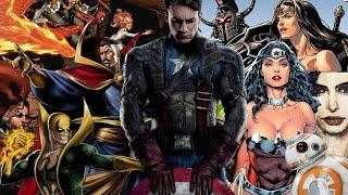 Lo más nuevo:  Civil war Trailer, Iron Fist, Dr. Strange, Jessica jones, Xmen y más
