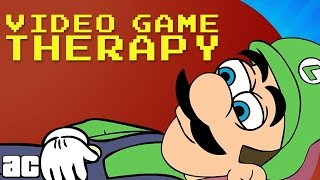 Arcade Cloud: Luigi Sees a Court-Ordered Therapist! | Animated Parodies