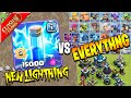 Gambar cover *NEW* LIGHTNING SPELL VS EVERY TROOP AND DEFENSE!