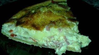 Receta De Quiche Con Bacon,cebolla...