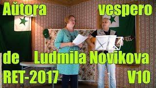 Aŭtora vespero de Ludmila Novikova_RET-2017_V10