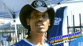 Nipsey Hussle Day - Crenshaw District - The Marathon Continues
