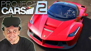 MOST IMMERSIVE VR RACING SIMULATOR?   Project CARS 2 VR Oculus Rift Gameplay