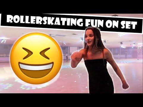 Rollerskating Fun On Set 😆 (WK 374.2) | Bratayley