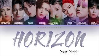 Download ATEEZ (에이티즈)- HORIZON (Color Coded Lyrics Han/Rom/Eng)