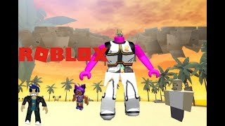 Soy GEANTE Roblox Muscle Simulator 3