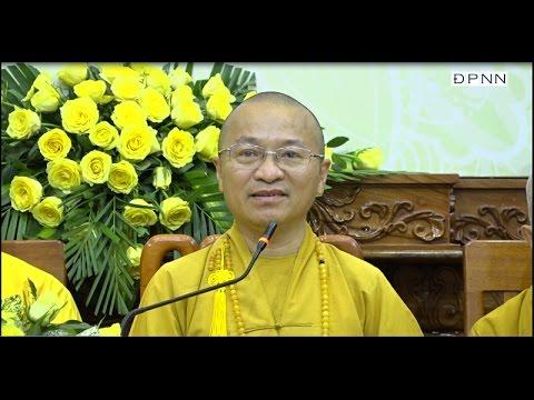 Tổng kết công tác Phật sự 2016