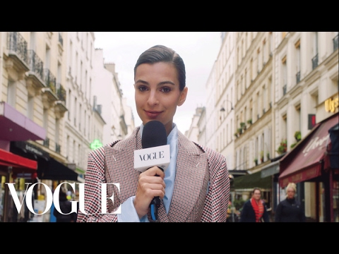 Thumbnail: Emily Ratajkowski's Paris Fashion Week Adventure | Supermodel! | Vogue