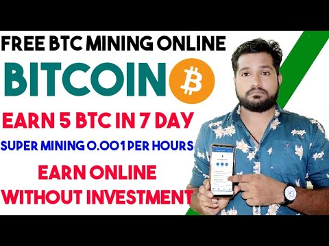 Earn Free Bitcoin Daily - 0.002 BTC A Day - Super Mining Website, Earn Money, Without Investment ETH
